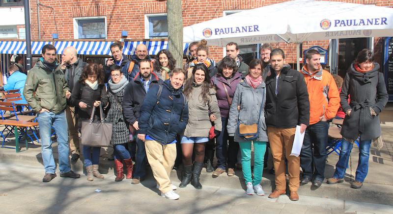 Alumnos del programa Destino Alemania en Bremen
